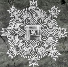 Get the best Ugadi kolam designs in here. Ugadi is also known as Sankranti and Yugadi. It is one of the major festivals of Hindus celebrated all over India. Indian Rangoli Designs, Rangoli Designs Latest, Rangoli Designs Flower, Rangoli Border Designs, Latest Rangoli, Rangoli Designs Images, Rangoli Designs With Dots, Rangoli With Dots, Beautiful Rangoli Designs
