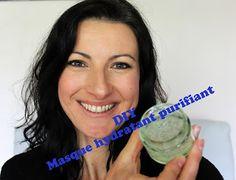 Masque purifiant hydratant home made au concombre de Delphine