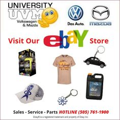 Visit our #Ebay store @ http://stores.ebay.com/vwmazdawarehouse … for Genuine #Volkswagen & #Mazda parts & Accessories! #VWAccessories University VW Mazda (@UniversityVWM) | Twitter