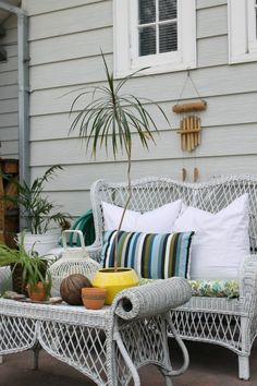 The Wicker House: Bohemian vibes on my Patio