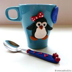 #christmas#mug #spoon #polymer #tea #music#polymerclay#handmade#pingvin#gift#home#barátnő#ajándék#ajándékanyának#ajándékanyukámnak#ajándéktesónak#ajándékapának#karácsony#bögre#égethetőgyurma#kanál#tea#snowman#legjobbbarátnő#bestfriend#friend#pinguin
