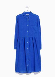 Mango Shirt Dress, $70; mango.com     - ELLE.com