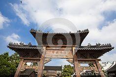 Tongxiang County, Jiaxing City, Zhejiang province Chinese, Wuzhen West Gate Scenic Area