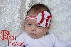 #baseball #fan #littlesister #baby #sister #girl #allaboutthatbase #softball Baseball Fan Headband Newborn Girl Take Home Outfit by PoshPlease