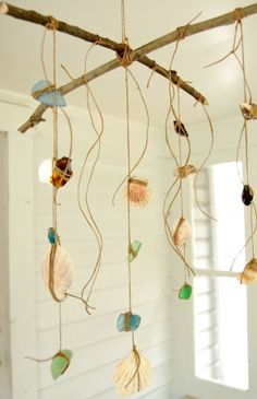 Summer Solstice Craft of the Day! How fun to make with kids and teens!! Go to the beach and enjoy the first day of summer and do a fun beach craft!
