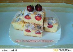 Rychlá nadýchaná bublanina recept - TopRecepty.cz Waffles, Cheesecake, Food And Drink, Pudding, Breakfast, Recipes, Morning Coffee, Cheesecakes, Custard Pudding