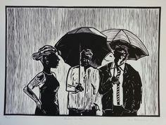 Sam Nhlengethwa Rain Art, Africa Art, Black Barbie, Artist Art, Prints For Sale, Artists, Fictional Characters, African Art, Fantasy Characters