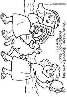 Psalm 182 Coloring Page