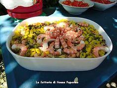 Sardinian Gnocchetti w/ Shrimp & Zucchini / Food as Fuel | Webflakes