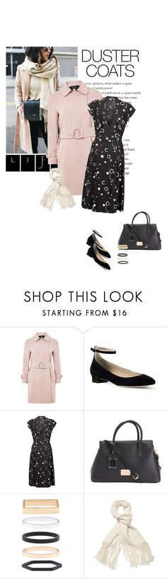 """Long Layers: Duster Coats"" by likepolyfashion ❤ liked on Polyvore featuring Topshop, Lands' End, Accessorize, Helmut Lang and DusterCoats"