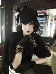 Fashion shoots / Editorial. Vintage Stil, Mode Vintage, Looks Vintage, Style Vintage, Vintage Fashion, 1920s Style, Gatsby Style, Retro Style, Dame Chic