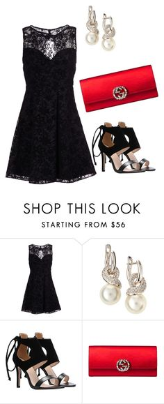 Keeping it simple is keeping it classy. by julies-styling on Polyvore featuring Alice + Olivia, Gucci, women's clothing, women's fashion, women, female, woman, misses and juniors