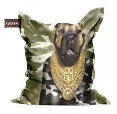 Trendhopper Zitzak Dog Gold - Stoelen - #pinenwin #homecenterlente - doe met de Pin & Win actie en win je favoriete lente-artikel! www.homecenter.nl/pinitenwin