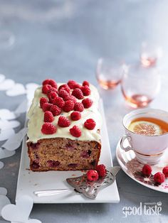 BANANA & RASPBERRY CAKE WITH PASSIONFRUIT ICING ~ recipe Kathy Knudsen ~ pic Ben Dearnley/NewsLifeMedia