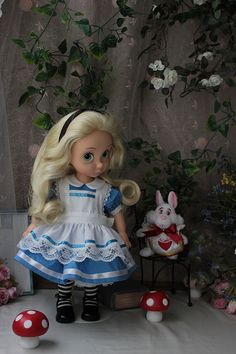 Custom made Alice in wonderland with Rapunzel. Absolutely stunning!