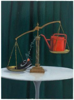 Eye Catching Oil Paintings Created with 3D Printed Elements http://3dprint.com/84168/oil-paintings-with-3d-prints/