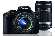 Canon EOS 550D DSLR Twin Lens Kit
