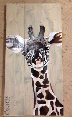 Anita Reijnders - Workshop schilderen op steigerhout: