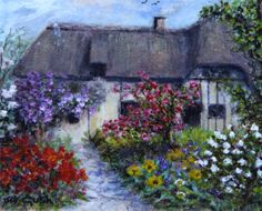 Thatched Roofed Country Cottage....