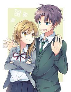 Yuzuki Seo. Wakamatsu Hirotaka. Gekkan Shoujo Nozaki-kun. Monthly Girls' Nozaki-kun. #anime