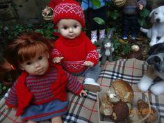 Michel et sa cousine (chérie de corolle) ,retour de la cueillette des champignons chezmariefil