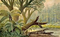 Heinrich Harder Paleontology Artist and Paintings