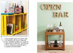 Bar, Liquor Cabinet, Storage, Kitchen, Furniture, Home Decor, Crate, Vibrant Colors, Crates