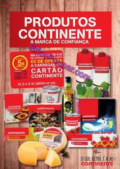 Antevisão Promoções Folheto Continente - de 13 a 18 de Janeiro - Produtos Continente - A marca de Confiança