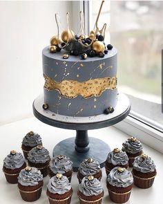 Beautiful Cake Designs, Beautiful Cakes, Amazing Cakes, Birthday Cake For Him, Cute Birthday Cakes, Elegant Birthday Cakes, Beautiful Birthday Cakes, Cake Icing, Cupcake Cakes
