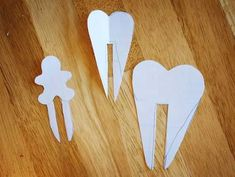 Templates for Cut Out Sugar Cookies, perfect for resting on side of a coffee mug!