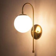 Art deco milk glass ball wall light: Tudo and co – Tudo And Co Wall Sconce Lighting, Wall Sconces, Luminaire Applique, Estilo Art Deco, Modern Sconces, Ring Set, Deco Design, Stained Glass Art, Arquitetura