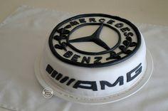 Magiczne dodatki : Mercedes -Benz tort.