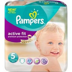 Pack 92 Couches Pampers Active Fit de taille 5 sur Les Looloos