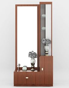 Dressing Table on Behance Wall Dressing Table, Dressing Table Mirror Design, Modern Dressing Table Designs, Dressing Room Design, Dressing Mirror, Full Length Mirror Dressing Table, Sofa Bed Design, Bedroom Furniture Design, Home Decor Furniture