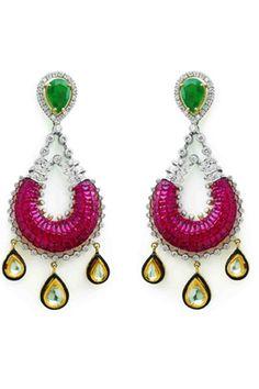 Earrings by Gehna Jewellers