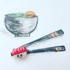 #Брошь_sushi  Кто же не любит суши? Или вкусное блюдо из японской кухни?  Who doesn't like sushi? Or any other Japanese dish for that…