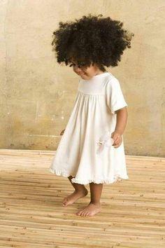 little white children's dress