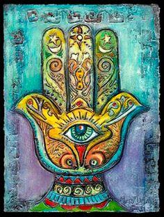 Hamsa by Mary DeLave