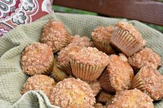 These Mini Cinnamon Banana Muffins make the perfect breakfast, snack, or sweet treat! Enjoy now or freeze for later and pair with a cup of coffee! Mini Banana Muffins, Mini Bananas, Banana Coffee, Banana Nut, Banana Bread, Coffee Cupcakes, Coffee Cake, Banana Cupcakes, Banana Recipes