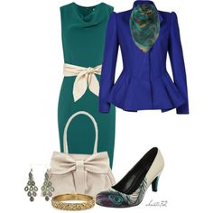 Peacock, created by christa72 on Polyvore
