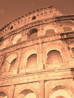 Colosseo. Louvre, Building, Travel, Viajes, Buildings, Trips, Traveling, Tourism, Architectural Engineering
