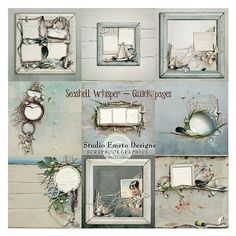 Seashell Whisper - Quick pages for Charleston Pictures