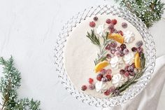 No-Bake Holiday Cheesecake Chocolate Cheesecake Recipes, Easy Cheesecake Recipes, Canadian Living Recipes, Birthday Cheesecake, Classic Cheesecake, Meringue Cookies, Ginger Cookies, Cookie Crumbs, Fresh Cranberries