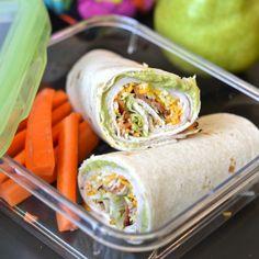 Kid friendly meal plan (plus a recipe for turkey-bacon roll ups)