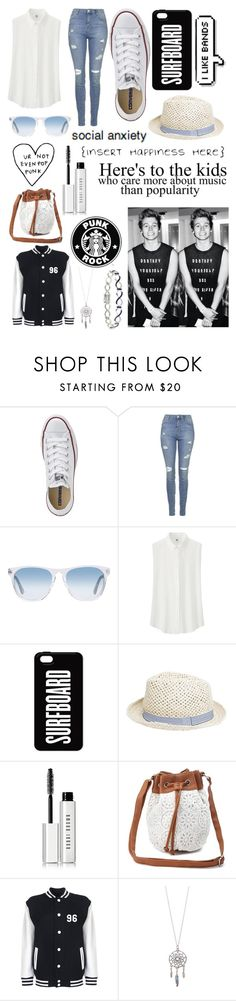 """""""Luke Hemmings imagine"""" by batman-lover-13 ❤ liked on Polyvore featuring Converse, Topshop, Oliver Peoples, Uniqlo, MANGO, Bobbi Brown Cosmetics, Tiffany & Co., Charlotte Russe and DB Designs"""