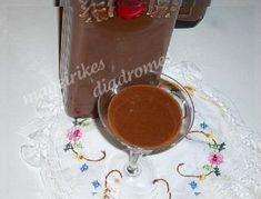 Λικέρ Σοκολάτα! | Sokolatomania.gr, Οι πιο πετυχημένες συνταγές για οσους λατρεύουν την σοκολάτα και τις γλυκές γεύσεις. Cookbook Recipes, Cooking Recipes, Chocolate Fondue, Pudding, Sweets, Homemade, Drinks, Desserts, Trust
