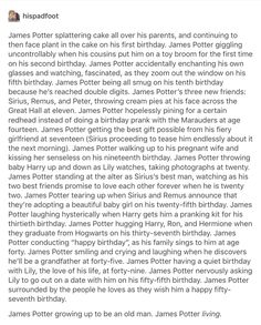 James Potter - happy birthday!