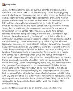James Potter - happy birthday!