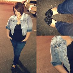 fat girls CAN wear skinny jeans ~ Life & Style of Jessica Kane { a body acceptance and plus size fashion blog }