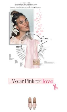 """""""I Wear Pink For: Love"""" by noa5353 ❤ liked on Polyvore featuring By Sun, Chloé and Miu Miu"""